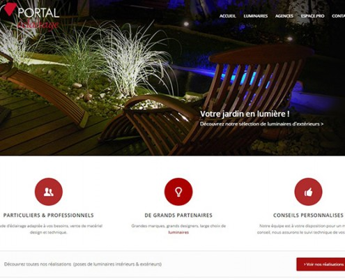 site-internet-vitrine-portal-eclairage