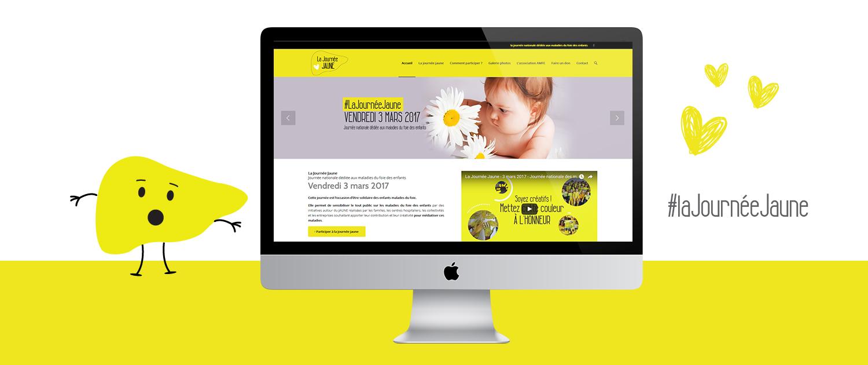 design-graphique-site-internet-journee-jaune-2017-amfe-paris